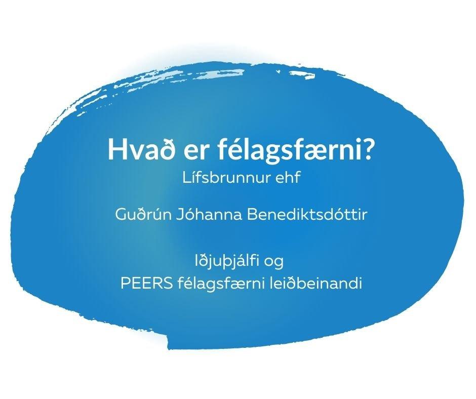 Hvað er félagsfærni